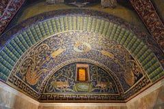 Mausoleum of Galla Placidia Stock Images
