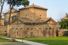Mausoleum of Galla Placidia, Ravenna, Italy Royalty Free Stock Images