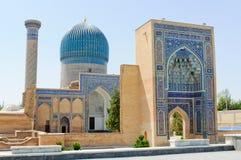 Mausoleum Gor-Emir in Samarkand Stockbild