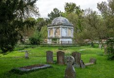 St Mary the Virgin church in village of Hambleden royalty free stock image