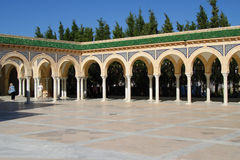Mausoleum of Habib Bourgiba Royalty Free Stock Photo