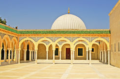 Mausoleum of Habib Bourgiba in Monastir Royalty Free Stock Image