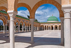 Mausoleum of Habib Bourgiba Stock Photos