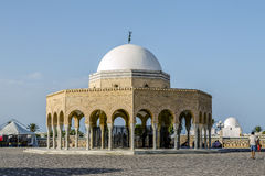 Mausoleum of Habib Bourgiba in Monastir Royalty Free Stock Photography