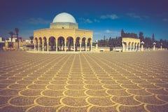 Mausoleum of Habib Bourgiba in Monastir, Tunisia. Royalty Free Stock Photography