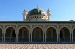 Mausoleum of Habib Bourgiba Stock Photo