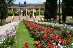 Mausoleum of Hafez in Shiraz Stock Photos