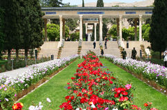 Mausoleum of Hafez in Shiraz Royalty Free Stock Photos