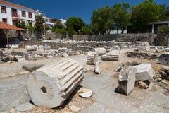 Mausoleum in Halicarnassus stock afbeelding