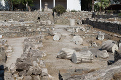 Mausoleum at Halicarnassus Royalty Free Stock Photography
