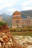 Mausoleum in Hasankeyf die Türkei Lizenzfreies Stockfoto