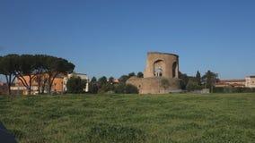 Mausoleum of Helena stock video footage