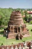 Mausoleum Historical remain in Phra Nakhon Si Ayutthaya, at yai chaimongkol   Thailand, one of the famous historical landmark in t. Mausoleum Historical remain Stock Image
