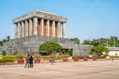 Mausoleum Ho Chi Minh Royalty Free Stock Photo