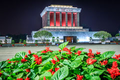 Mausoleum of Ho Chi Minh. Hanoi, Vietnam Royalty Free Stock Images