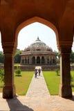 Mausoleum of Humayun in Delhi Royalty Free Stock Photos