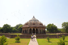 Mausoleum of Humayun in Delhi Stock Photos