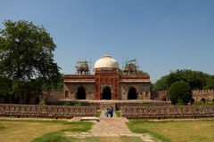 Mausoleum of Humayun in Delhi Royalty Free Stock Images