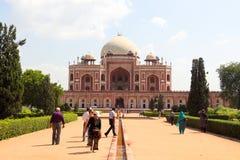 Mausoleum of Humayun in Delhi Stock Photos