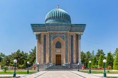 Mausoleum of Imam-al-Matrudiy in Samarkand, Uzbekistan Royalty Free Stock Photography