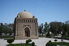 Mausoleum Ismail-Samani, Bukhara Stockbild