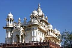 Mausoleum Jaswant Thada in Jodhpur, Indien Stockbilder