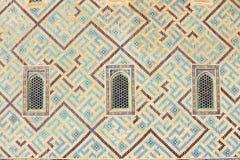 Mausoleum of Khoja Ahmed Yasavi in Turkistan, Kazakhstan. Stock Photos