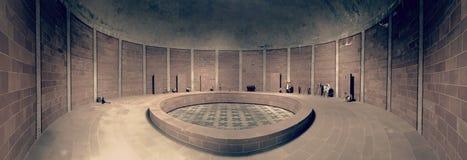 Mausoleum an Kirchhof Frankreich Germann ww2 Germam lizenzfreie stockfotos