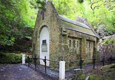 Mausoleum in Kylemore Abbey. Royalty Free Stock Photography