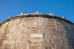 Mausoleum of Lucius Munatius Plancus, Gaeta. The Mausoleum of Lucius Munatius Plancus on Mount Orlando, in Gaeta. It is the tomb of a Roman man of huge military Stock Image