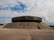 Mausoleum in Majdanek concentration camp Stock Photos