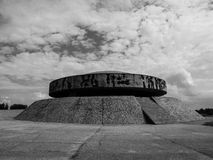 Mausoleum in Majdanek concentration camp Royalty Free Stock Photos
