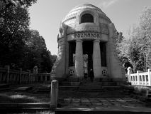 Mausoleum of the manufacturer. Royalty Free Stock Photo