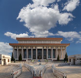 Mausoleum of Mao Zedong, Tiananmen Square, Beijing Stock Photography