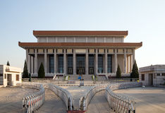 Mausoleum of Mao Zedong, Tiananmen Square, Beijing Royalty Free Stock Photos