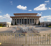 Mausoleum of Mao Zedong, Tiananmen Square, Beijing, China Stock Photography