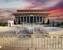 Mausoleum of Mao Zedong, Tiananmen Square, Beijing, China Royalty Free Stock Photos