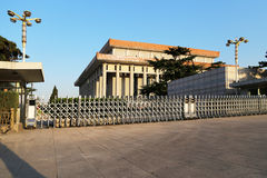 Mausoleum of Mao Zedong, Tiananmen Square, Beijing, China Stock Photos