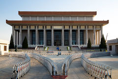 Mausoleum of Mao Zedong, Tiananmen Square, Beijing, China Royalty Free Stock Photography