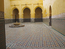 Mausoleum of Meknes Royalty Free Stock Photography