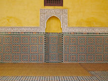 Mausoleum of Meknes Royalty Free Stock Photo