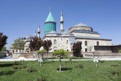 Mausoleum of Mevlana (Rumi) in Konya. Turkey. Stock Photography