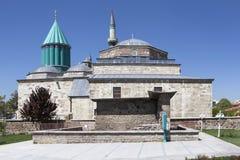 Mausoleum of Mevlana (Rumi) in Konya. Turkey. Royalty Free Stock Image