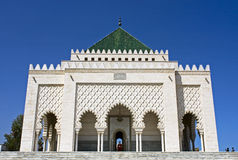 Mausoleum Mohamed V. Stock Photography