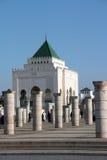 mausoleum mohammed v Royaltyfri Fotografi