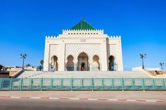 Mausoleum Mohammed V Royaltyfri Foto