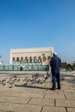 Mausoleum of Mohammed V and and Hassan II in Rabat. stock photography