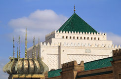 Mausoleum of Mohammed V, Rabat, Morocco. Stock Images