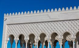 Mausoleum of Mohammed V in Rabat Royalty Free Stock Photography
