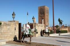Mausoleum of Mohammed V, Rabat Stock Images